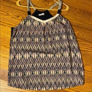 Maurices sleeveless dress shirt